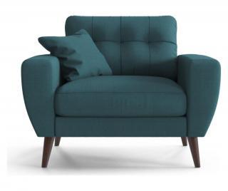 Kreslo Gallieni Turquoise Modrá