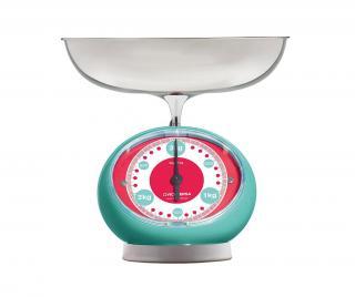 Kuchynská váha Tix Turquoise Modrá
