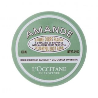 L´Occitane Almond Delightful Body Balm  100 ml telový balzam pre ženy Prírodný dámské 100 ml
