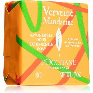 L'Occitane Verveine Mandarine Extra-Gentle Soap tuhé mydlo s parfumáciou 50 g dámské 50 g
