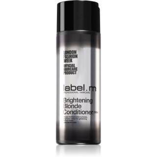 label.m Brightening Blonde rozjasňujúci kondicionér pre blond vlasy 200 ml dámské 200 ml