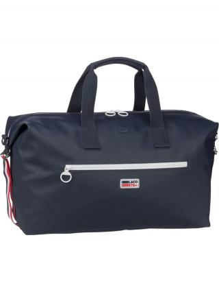 LACOSTE Cestovná taška  biela / námornícka modrá / červená pánské One Size