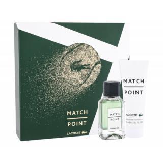Lacoste Match Point darčeková kazeta toaletná voda 50 ml   sprchový gél 75 ml pre mužov pánské