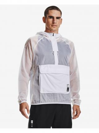 Ľahké bundy pre mužov Under Armour - biela pánské S
