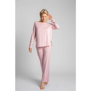 LaLupa Womans Blouse LA029 dámské Pink XXL