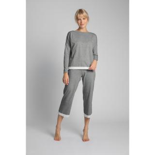 LaLupa Womans Blouse LA040 dámské Grey XXL