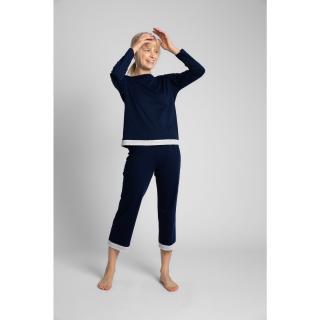 LaLupa Womans Blouse LA040 Navy Blue dámské XXL
