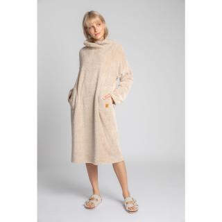 LaLupa Womans Dress LA002 Cappuccino dámské Brown XXL