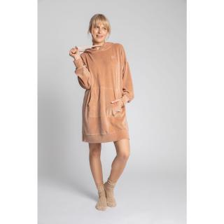 LaLupa Womans Dress LA010 dámské Beige XXL