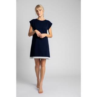 LaLupa Womans Shirt LA043 Navy Blue dámské L