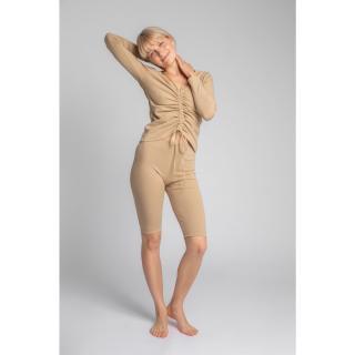 LaLupa Womans Shorts LA036 Cappuccino dámské Brown L