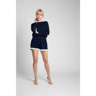 LaLupa Womans Shorts LA042 Navy Blue dámské L
