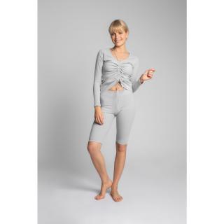 LaLupa Womans Top LA038 Light dámské Light Grey L
