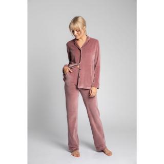 LaLupa Womans Trousers LA008 dámské Crepe Pink L