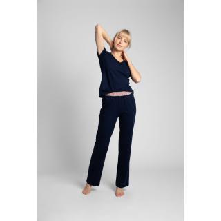 LaLupa Womans Trousers LA016 Navy Blue dámské L