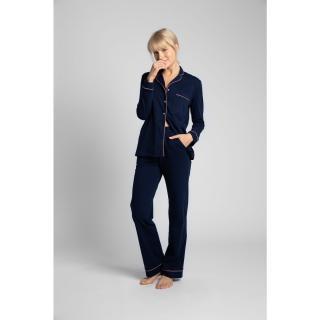LaLupa Womans Trousers LA020 Navy Blue dámské L