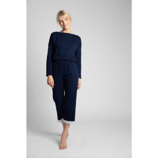 LaLupa Womans Trousers LA041 Navy Blue dámské L