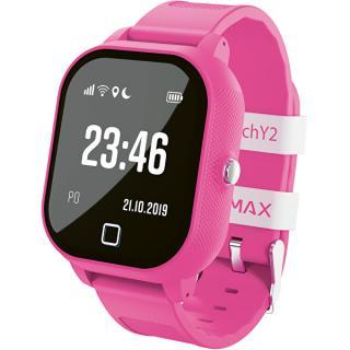 LAMAX Electronics WatchY2 dětské chytré hodinky - růžové - SLEVA ružová