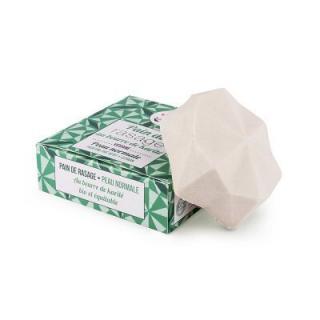 Lamazuna Tuhé mydlo na holenie pre normálnu pokožku - zelený čaj a citrón 17 g