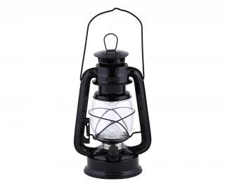 Lampáš s LED diódou Kayden Black Čierna