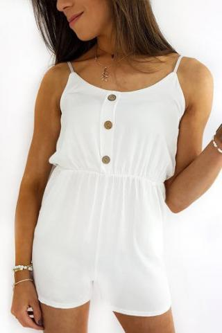 LARSI coverall white EY1214 dámské Neurčeno One size