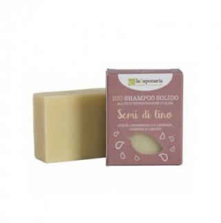 laSaponaria Tuhý šampón sa ľanovým olejom BIO 100 g
