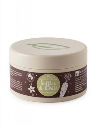 laSaponaria Výživný telový krém s mrkvou a vanilkou BIO 180 ml
