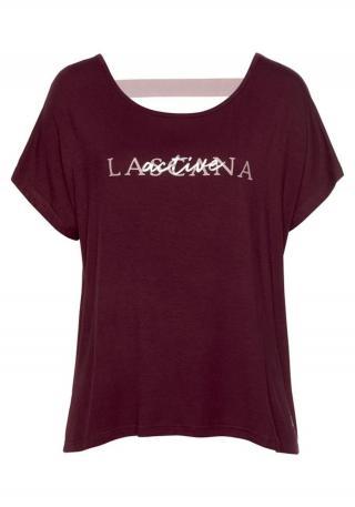 LASCANA ACTIVE Funkčné tričko  tmavočervená dámské XL