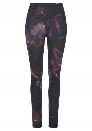 LASCANA ACTIVE Športové nohavice  fialová / zmiešané farby dámské XXS-XS