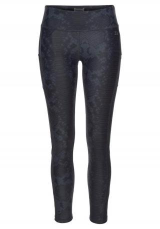 LASCANA ACTIVE Športové nohavice  tmavosivá / sivá dámské XL