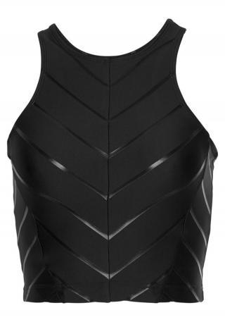 LASCANA ACTIVE Športový top  čierna dámské XL