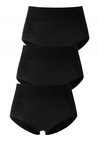 LASCANA Nohavičky  čierna dámské L-XL