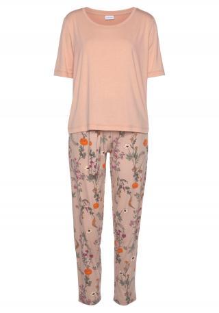 LASCANA Pyžamo  staroružová / oranžová / ružová dámské XXS-XS
