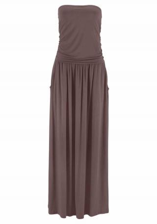 LASCANA Šaty  hnedá dámské 34