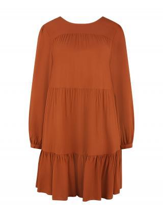 LASCANA Šaty  hrdzavo červená dámské 34