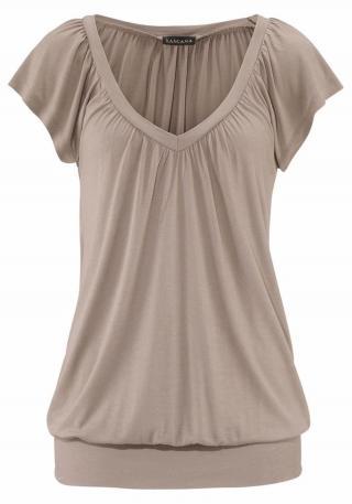 LASCANA Tričko  béžová dámské XL