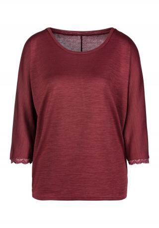 LASCANA Tričko  tmavočervená dámské XS