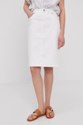 Lauren Ralph Lauren - Rifľová sukňa dámské biela 36