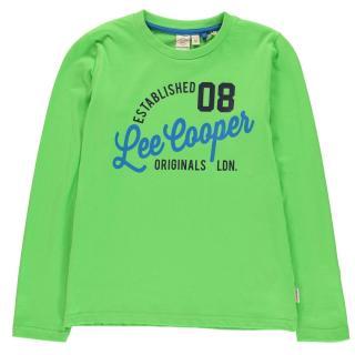 Lee Cooper Long Sleeve T Shirt Junior Boys pánské Other XXL