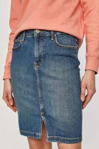 Lee - Rifľová sukňa dámské modrá 26