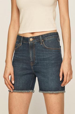 Lee - Rifľové krátke nohavice dámské tmavomodrá 27