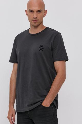 Lee - Tričko pánské sivá M