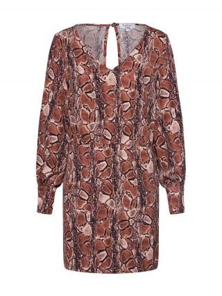 LeGer by Lena Gercke Košeľové šaty Hedi  hnedá dámské 34