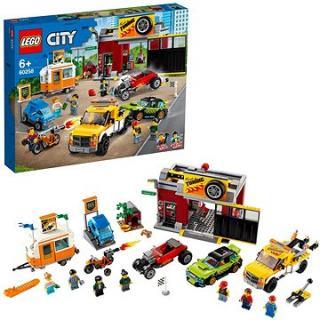 LEGO City Nitro Wheels 60258 Tuningová dieľňa