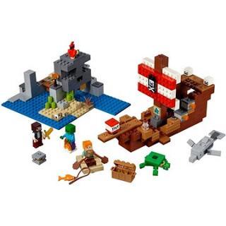 LEGO Minecraft 21152 Dobrodružstvo pirátskej lode