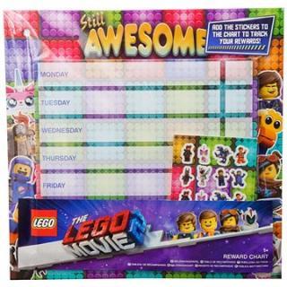 LEGO Rozvrh hodín s nálepkami