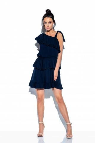 Lemoniade Womans Dress L336 Navy Blue dámské S