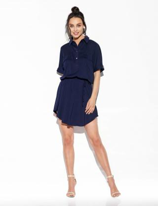 Lemoniade Womans Dress L338 Navy Blue dámské S
