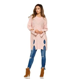 Lemoniade Womans Sweater LS220 Powder dámské Pink One size