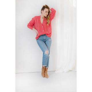 Lemoniade Womans Sweater Ls317 dámské Coral One size